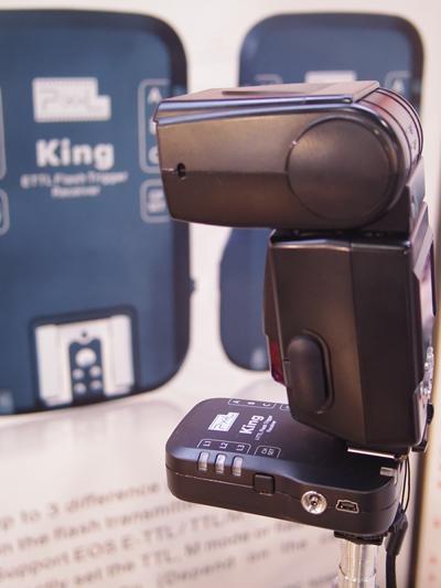 Pixel King for Nikon with Speedlight SB-800