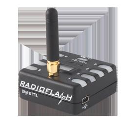 Radioflash Digi 8 transmitter