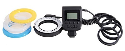 Travor RF-550D LED ring flash kit