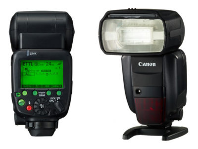 how to use canon speedlite 430ex ii as a slave