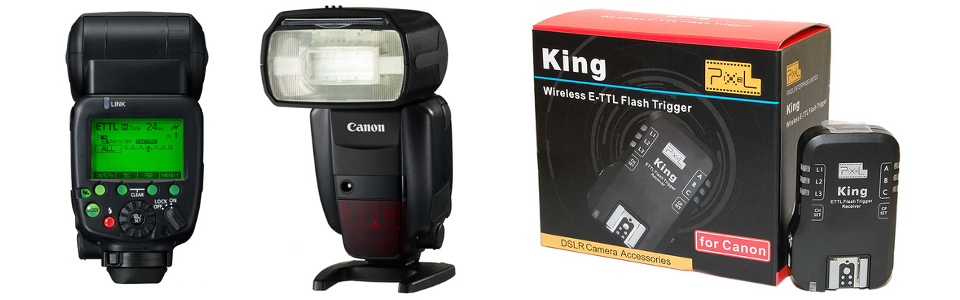 Canon 600EX and Pixel King