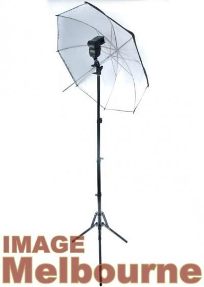 Image Melbourne Deluxe Umbrella Strobist Kit
