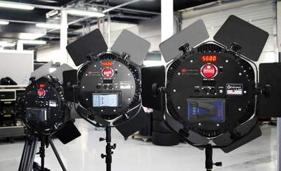 Rotolight Anovas in use