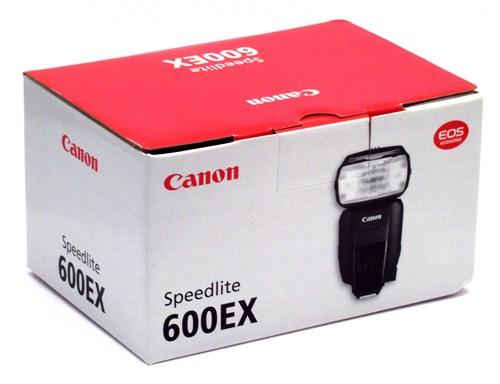 Canon 600EX box