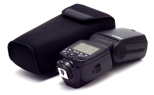 Canon 600EX and protective case