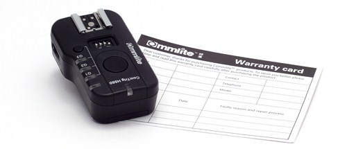 Commlite warranty card