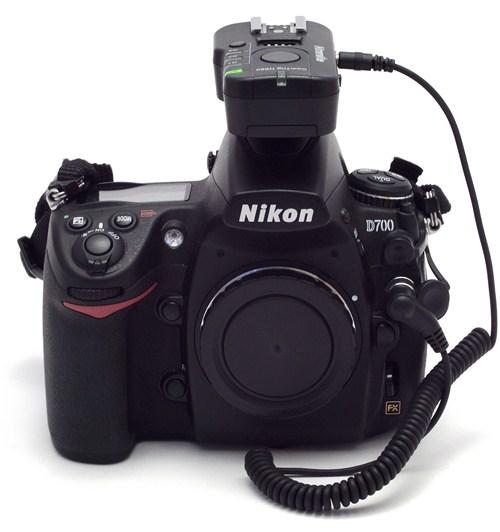 ComTrig H550 in HS mode on a Nikon D700