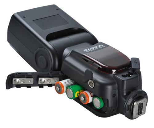 Aputure Magnum 68 battery compartment