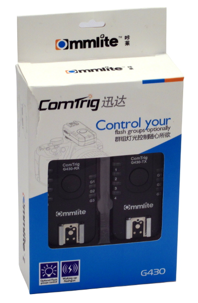Commlite ComTrig G430 packaging