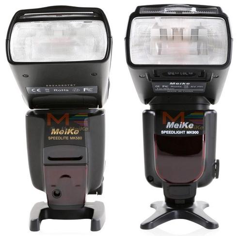 MeiKe MK580 and MK900 speedlights
