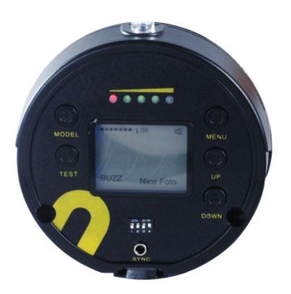 Nice n_flash 280A control panel