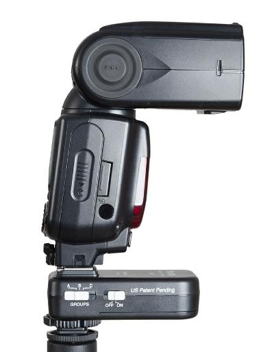 Phottix Odin receiver with Nikon Speedlight