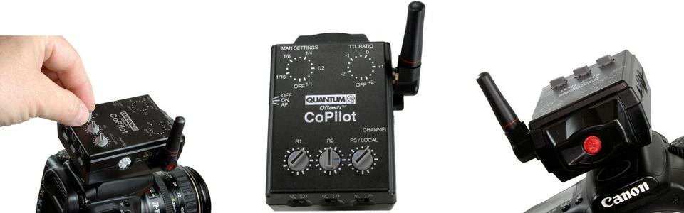 quantum simplifies wireless ttl with new copilot lighting rumours Energen Quantum Instrument Hybrid 402 Quantum Instruments Inc