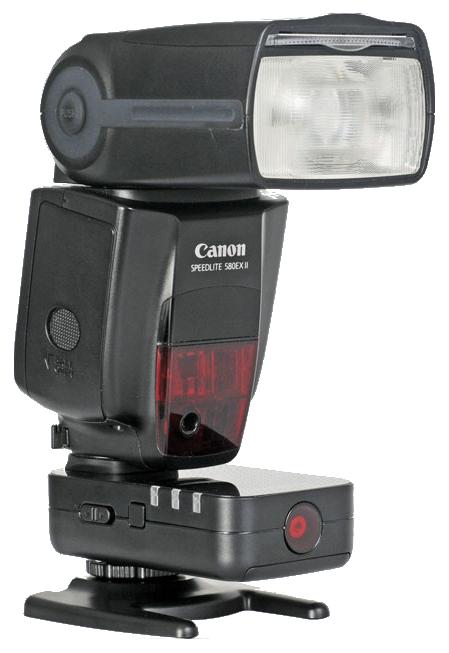Yongnuo YN-622C with a Canon Speedlite 580EX II