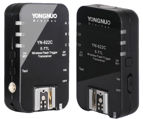 Yongnuo YN-622C E-TTL Wireless Flash Trigger Transceivers