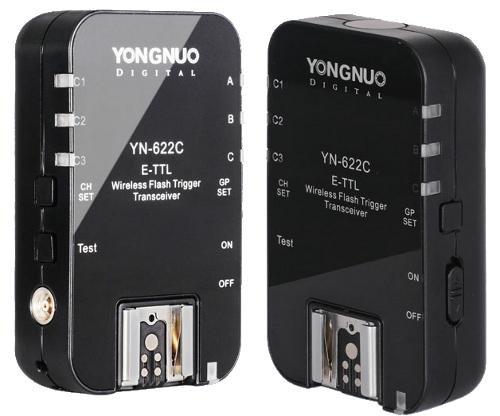 Yongnuo YN-622C E-TTL Wireless Flash Trigger Transceivers