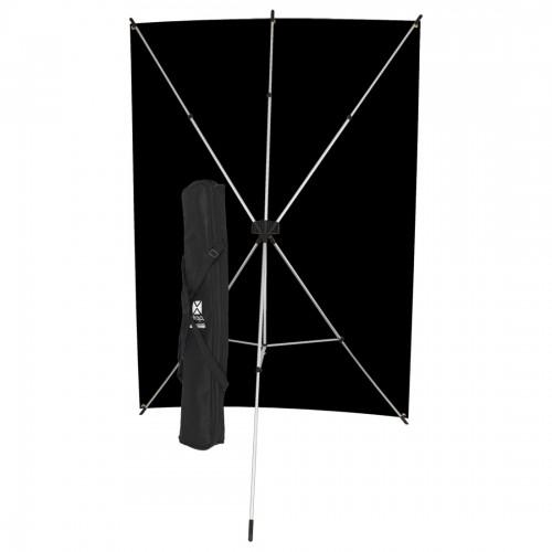 Black X-Drop Backdrop from Westcott