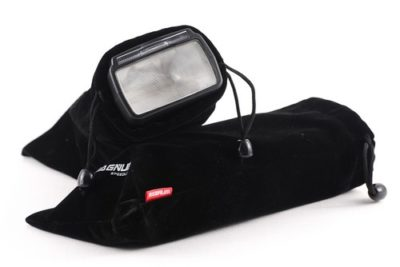 Soft protective cases come with the Aputure Magnum