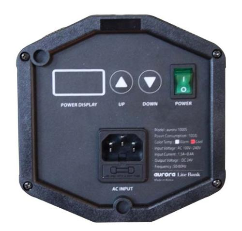 0 to 100% power control on the Aurora 1000S