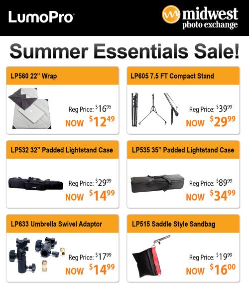 LumoPro Summer Essentials Sale at MPEX
