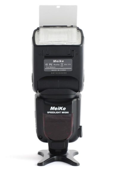 MeiKe MK900 wide-angle diffuser and reflector card