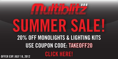 Multiblitz Summer Sale 2012