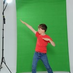 Green Screen X-Drop backdrop sample photo 1