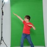 Green Screen X-Drop backdrop sample photo 1