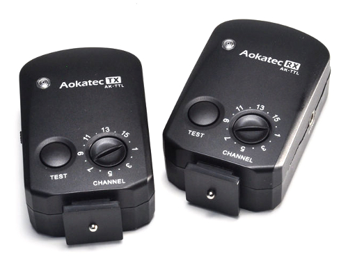 Aokatec AK-TTL transmitter and receiver