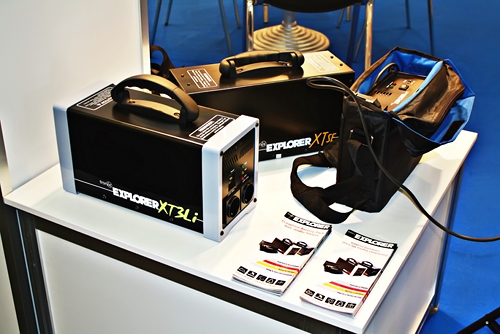 Tronix Explorer XT3Li battery pack prototype at Photokina