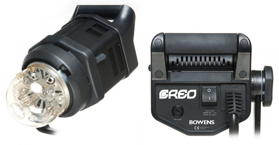 Bowens Creo flash head
