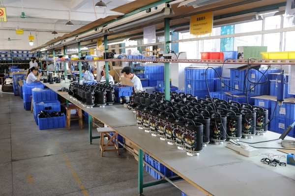 Monolights in production