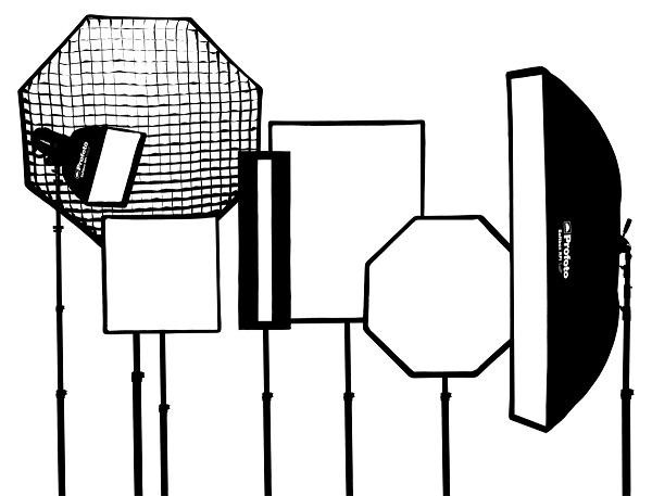 Profoto RFi softboxes