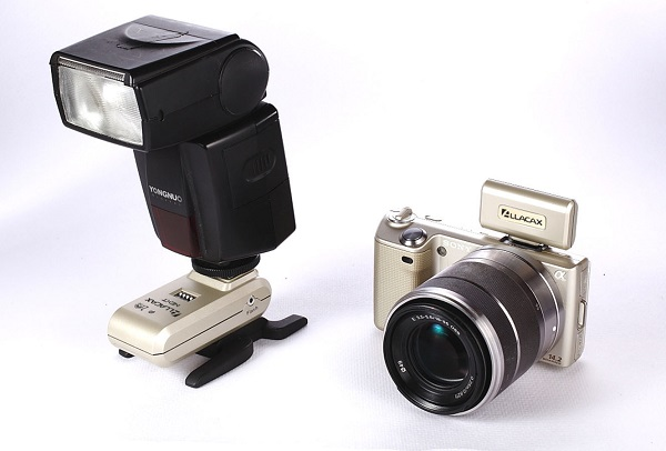 Allacax Next 2.4GHz flash trigger for Sony Alpha NEX