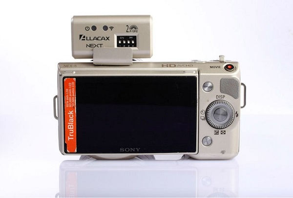 Allacax Next transmitter for Sony Alpha NEX
