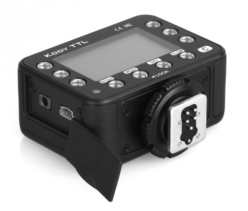 Rikon Dazzne Kody transmitter sync jack and USB port