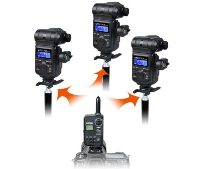 Godox FT-16 wireless control