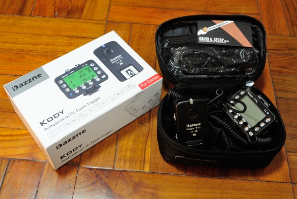 What's in the box: a Kody TTL kit comes with a nice padded case and plenty of cables