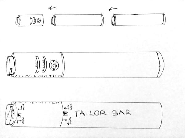 Lumenator concept drawing