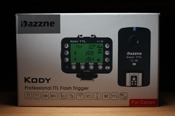Rikon Dazzne Kody TTL packaging