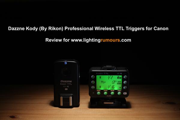 Rikon Dazzne Kody TTL review