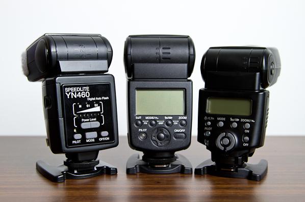 Yongnuo YN460, YN568EX and Canon 430EX II