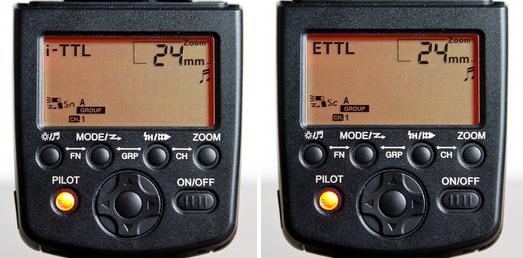 Yongnuo YN568EX wireless modes