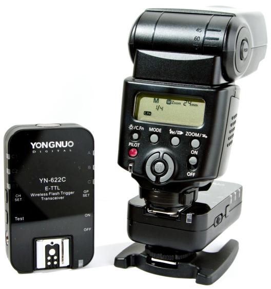 Yongnuo YN-622C E-TTL Wireless Flash Triggers