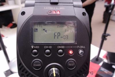 StroBeam D4 HSS IGBT at Focus On Imaging 2013