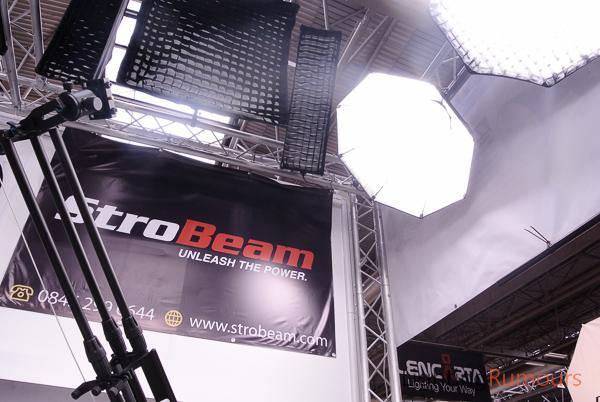 StroBeam at Focus On Imaging 2013