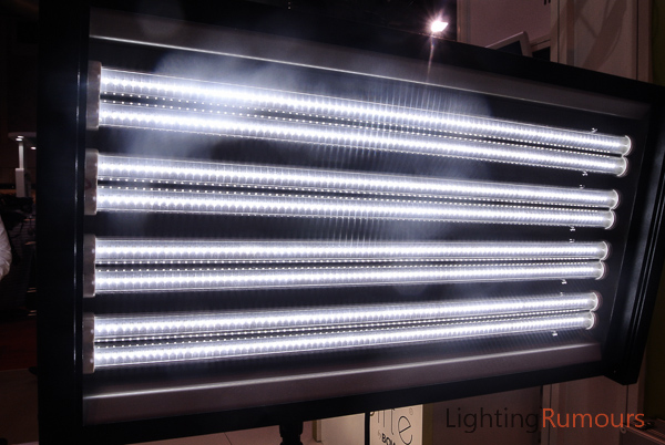 Limelite 'fluorescent' LED fixture at Focus On Imaging 2013