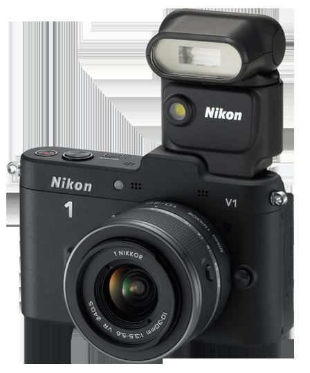 Nikon Speedlight SB-N5 on 1 V1