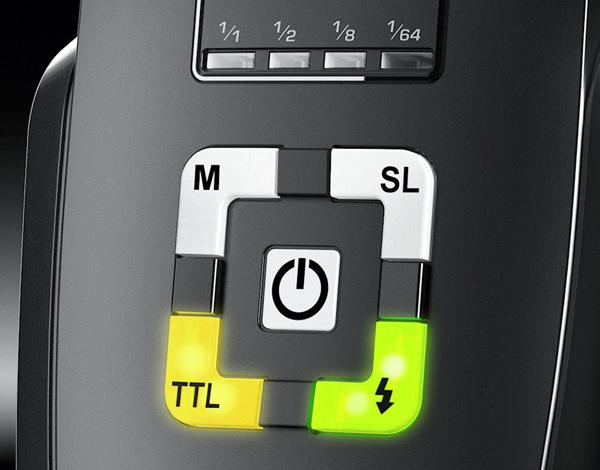 Metz Mecablitz 44 AF-1 controls