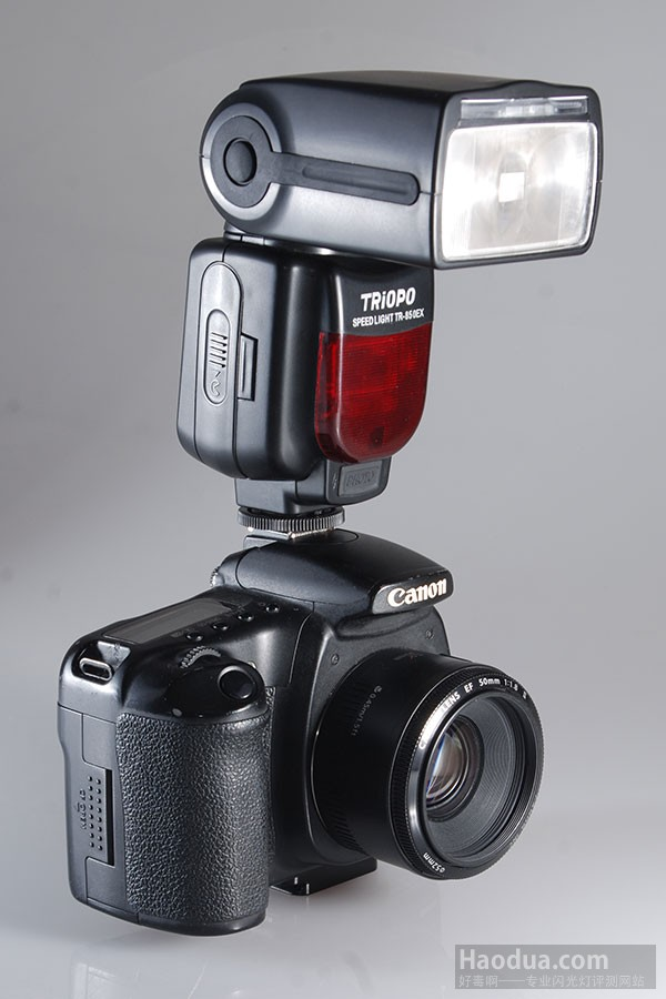 Triopo TR-850EX on a Canon 650D